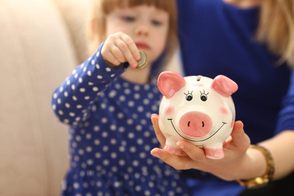 kind omgaan met geld
