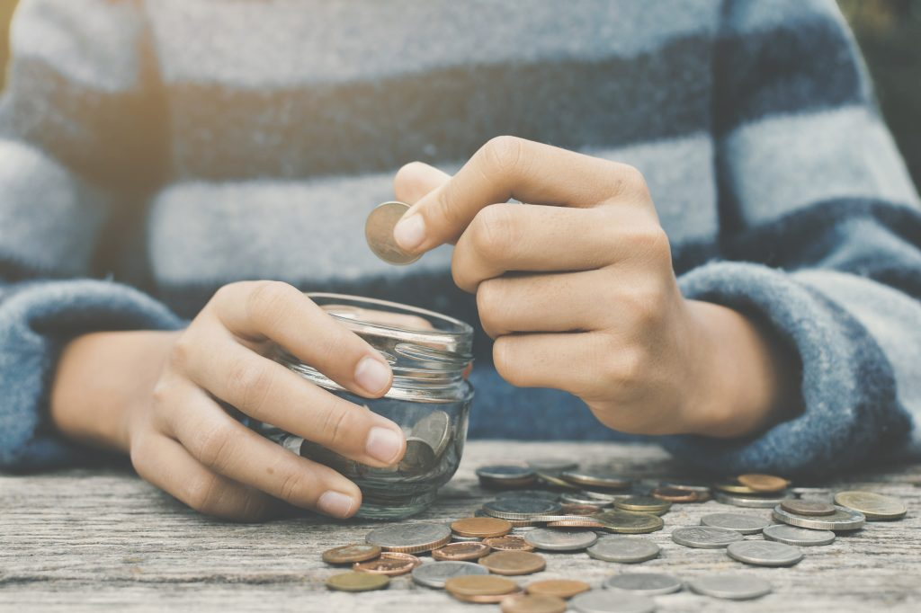 kinderen omgaan met geld