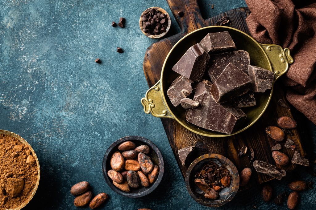 donkere melkchocolade