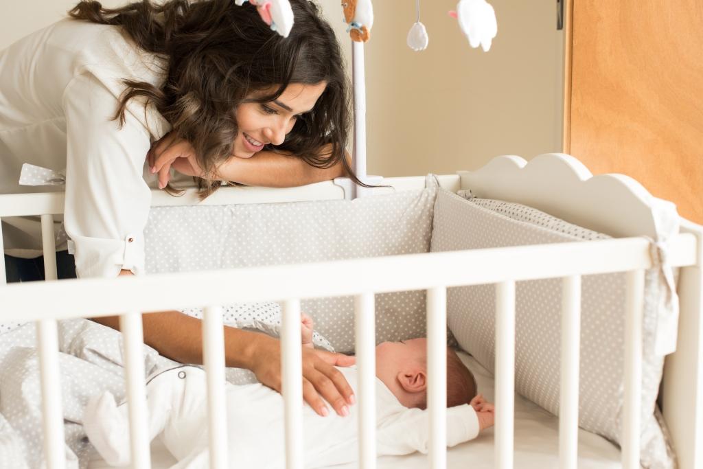 veilig slapen baby