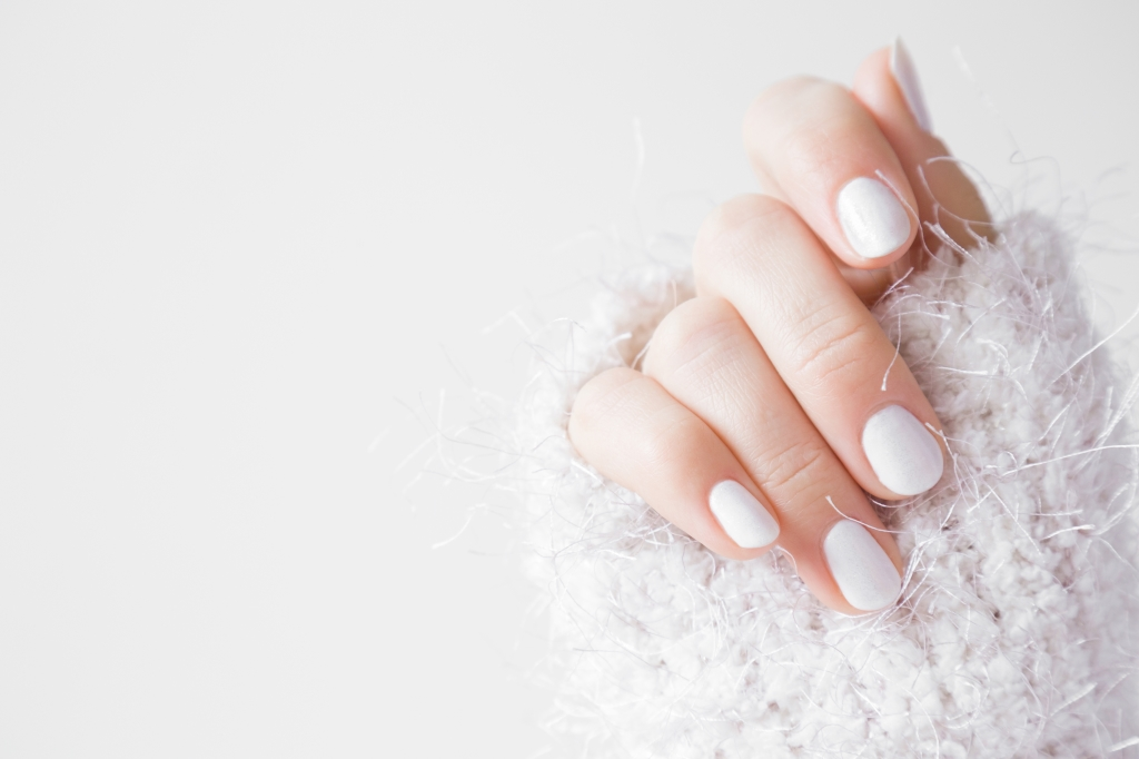 verkleurde nagels