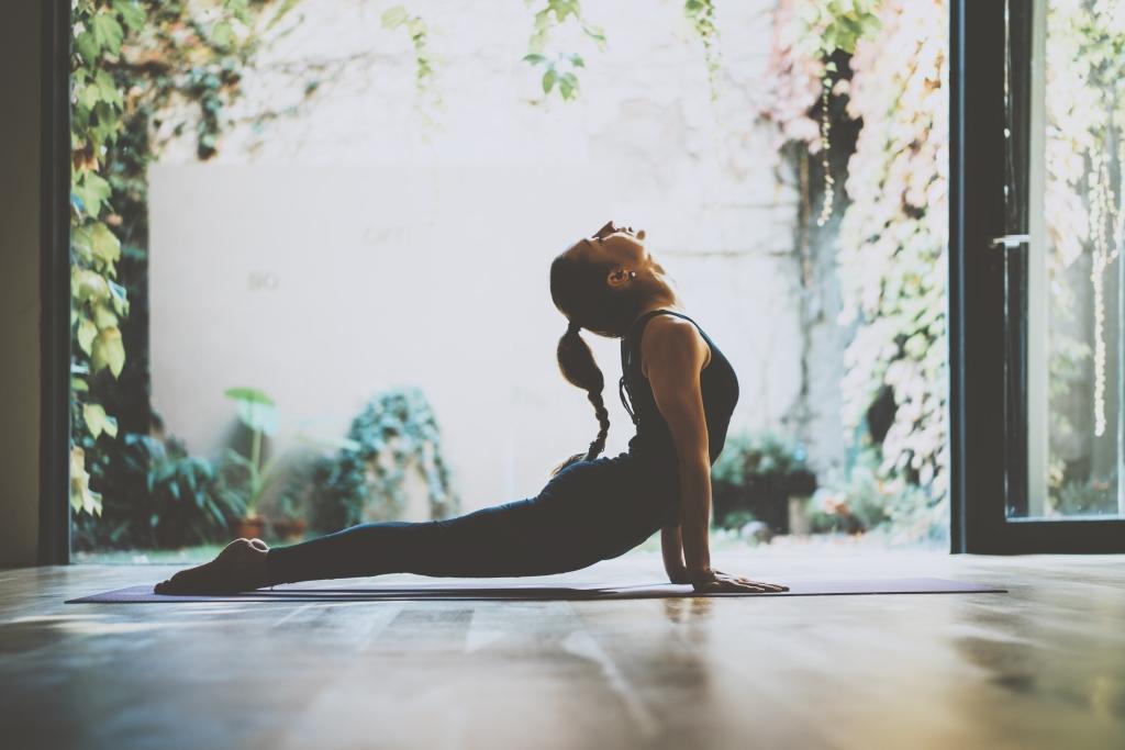 beginnen met yoga thuis