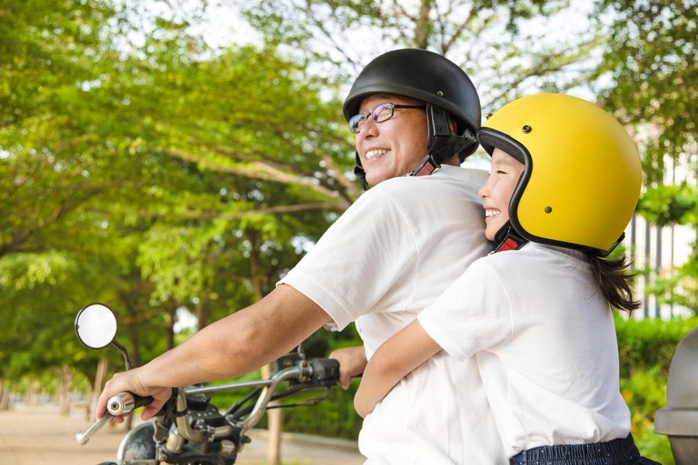 De juiste motorkleding voor kinderen