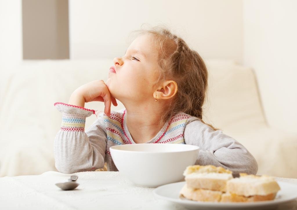 moeilijke eter kleuter