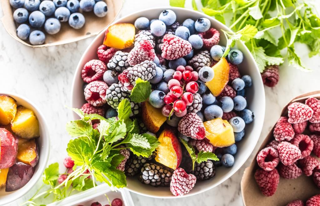 diepvries fruit gezond
