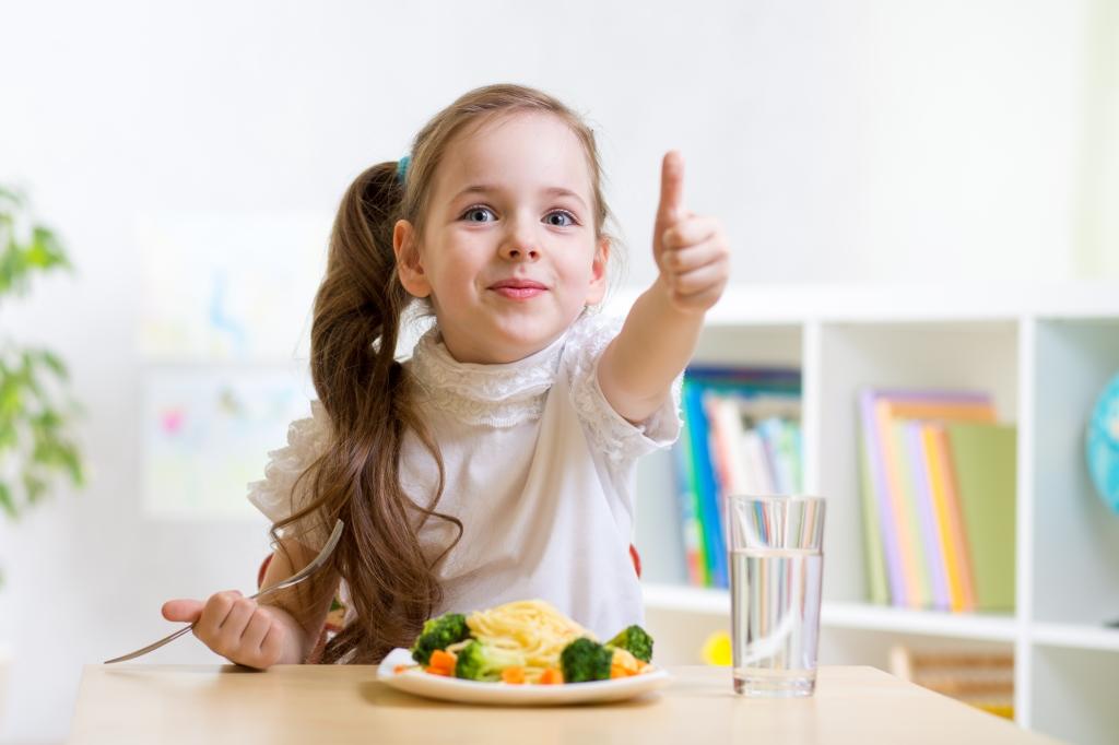 gezonde voeding kind